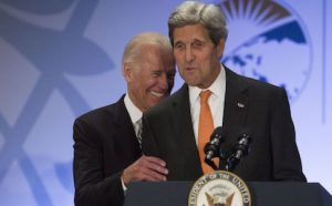 Biden and John Kerry