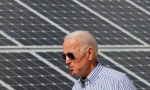 President-Elect Joe Biden Solar Panels