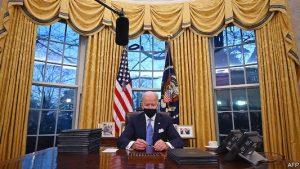 President Biden Oval Office