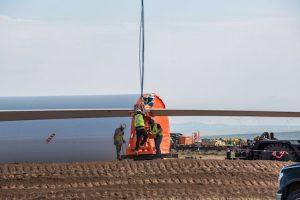 Wind Turbine Install